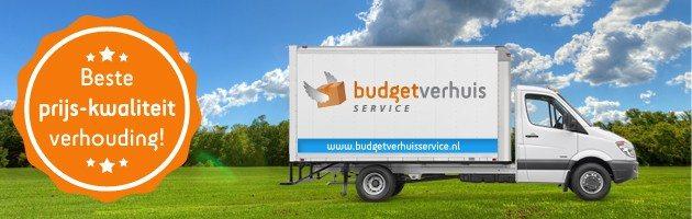 Verhuisbedrijf Budget verhuisservice